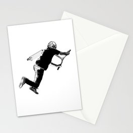 Tail-whip - Stunt Scooter Trick Stationery Cards
