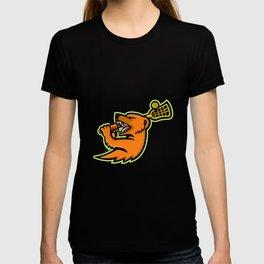 Mongoose Lacrosse Mascot T-shirt