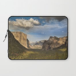 Tunnel View, Yosemite at Sunset Laptop Sleeve