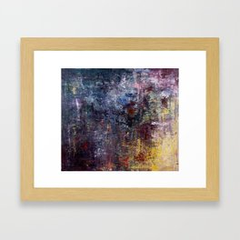 Lichen 5 Framed Art Print