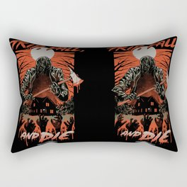 Every Slasher Movie Rectangular Pillow