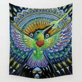 Colibri / Beija Flor II Wall Tapestry