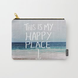 My Happy Place (Beach) Carry-All Pouch