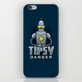 Tipsy Danger iPhone Skin