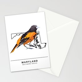 Maryland – Baltimore Oriole Stationery Cards
