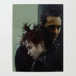 An Embrace With Marla Singer - Fight Poster