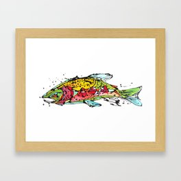 Cutthroat Trout Framed Art Print