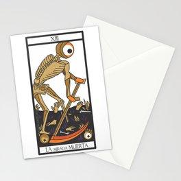 la mirada muerta Stationery Cards