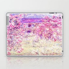 Monet : The House Among the Roses  Laptop & iPad Skin