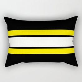 Team Colors 2..yellow Rectangular Pillow