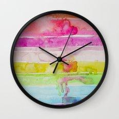 Fruity Stripe Wall Clock