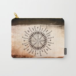 Windrose brown version Carry-All Pouch