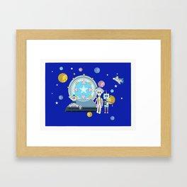 Stargate Framed Art Print