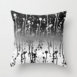 salpicar, splash, splatter, sprinkle, spatter, dabble Throw Pillow
