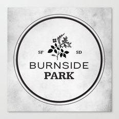 Burnside Park Canvas Print