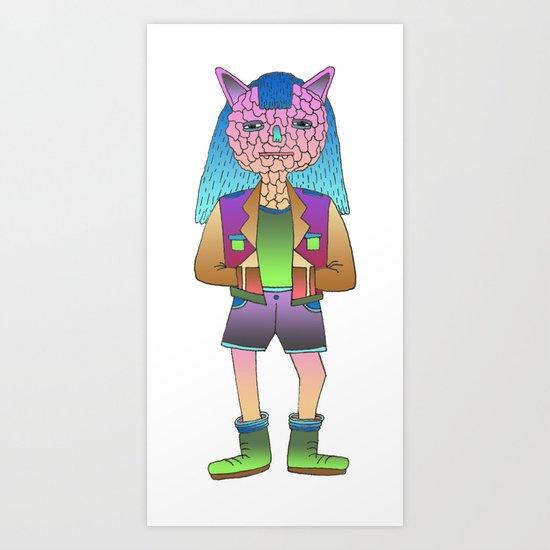 Ultraterrestrial #7 Art Print