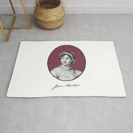 Authors - Jane Austen Rug