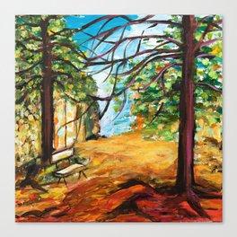 Woodland Beauty Canvas Print