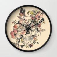la Wall Clocks featuring La Dolce Vita by Norman Duenas