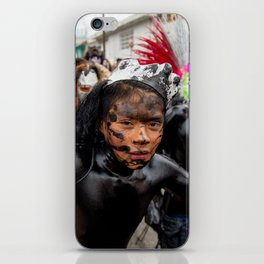 Painted young iPhone Skin