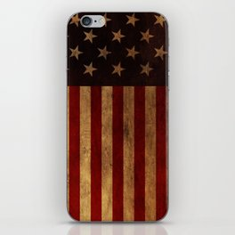 Star Spangled Banner. The Flag of the United States of America iPhone Skin