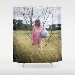 Big Girls Cry Shower Curtain