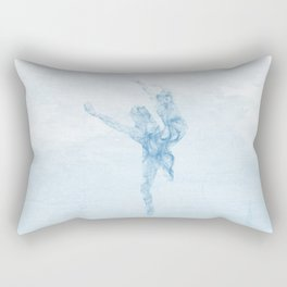 Whisper dance Rectangular Pillow