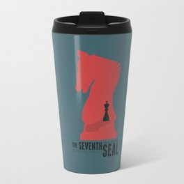 The Seventh Seal - Classic Bergman Movie Poster Travel Mug