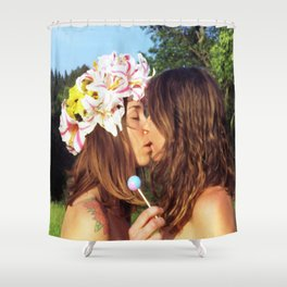 Here Today, Gone Tomorrow  Shower Curtain