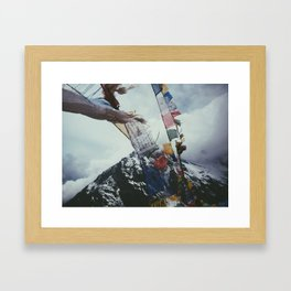Nepales Mountains Photo Print Framed Art Print
