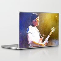 u2 Laptop & iPad Skins featuring The Edge / ieTour by JR van Kampen