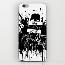 GuessWho? *remastered* iPhone Skin