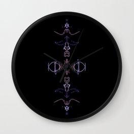 Meditation Wall Clock