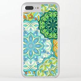 Lovely mandala Clear iPhone Case