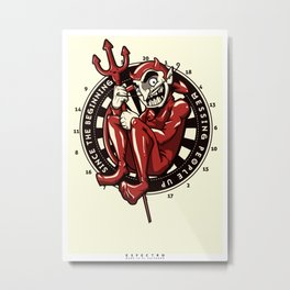 Mr. Devil Metal Print