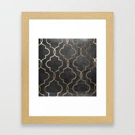 Paris Apartment Black Framed Art Print
