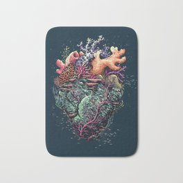 Poseidon's Heart Bath Mat