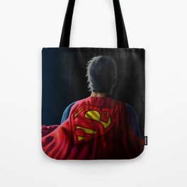 Man of Steel Tote Bag