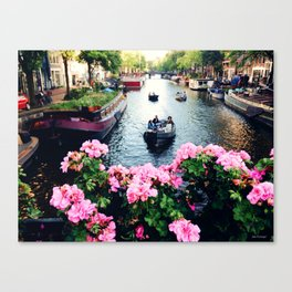 in love with Amster  Canvas Print
