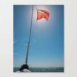 Windward Canvas Print