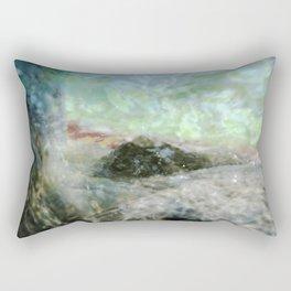 Aqua 5 Rectangular Pillow