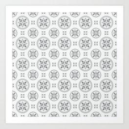 Antique Pattern Art Print