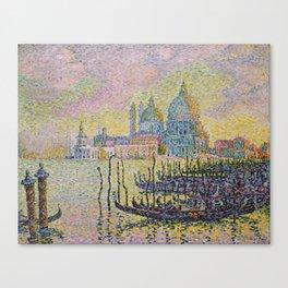 Grand Canal (Venice) - Paul Signac Canvas Print