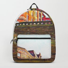 Hamburg Bridges Backpack