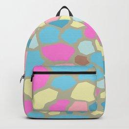 Seamless Unicorn Marble Pattern Backpack