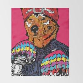 Shiba - The Hustler Throw Blanket