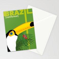 Brazil [rainforest] Stationery Cards