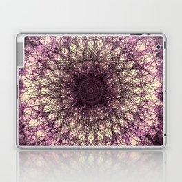 Purple Mandala Laptop & iPad Skin