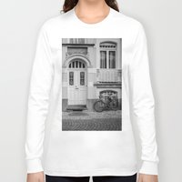house Long Sleeve T-shirts featuring House by Laura Arroyo