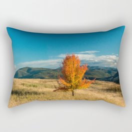 Simple Fall Tree Rectangular Pillow